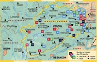 Carte Topoguide La Haute-Saône... à pied®