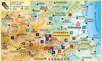 Carte Topoguide Les Pyrénées-Orientales... à pied®