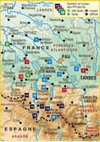 Carte Topoguide Le Béarn... à pied®
