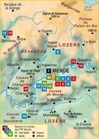 Plan topoguide Mende et ses environs... à pied®