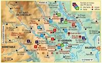 Plan topoguide les Vals d'Aix et Isable... à pied®
