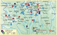 Carte Topoguide Le Pays d'Armagnac... à pied®