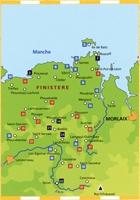 Carte Topoguide Le Pays du Léon... à pied®