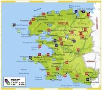 Carte Topoguide Le Finistère... à pied®
