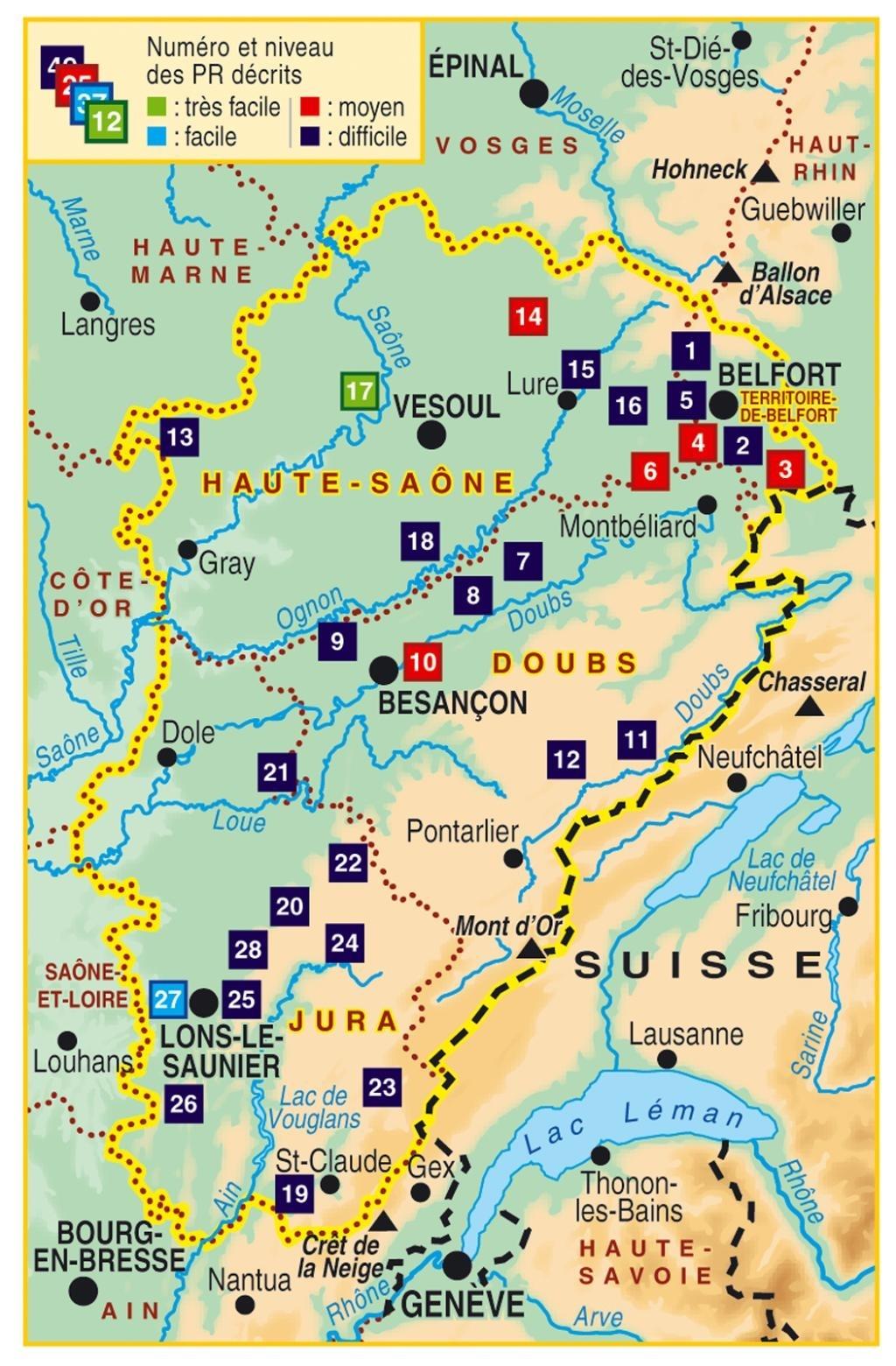 Topoguide randonnees en franche comte de gare en gare for Balade en franche comte
