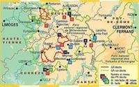 Plan topoguide le Parc naturel régional de Millevaches en Limousin... à pied®