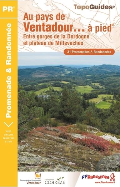 Topoguide au pays de Ventadour... à pied®