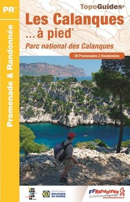 Topoguide les Calanques a pied - Parc national des Calanques