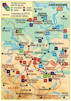 Plan topoguide le Pays de la Haute-Vallée de l'Aude... à pied®