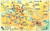 Plan topoguide sur les traces de la Bête du Gévaudan... à pied®