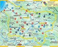 Carte Topoguide La Picardie... à pied®