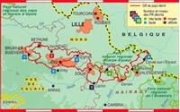Carte Topoguide Tours du Bassin Minier Nord - Pas-de-Calais