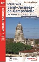 Topoguide sentier vers Saint-Jacques-de-Compostelle : Tours - Mirambeau