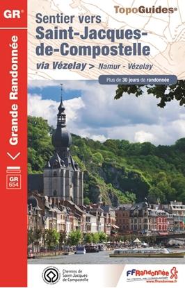 Sentier vers Saint-Jacques-de-Compostelle : Namur - Vézelay