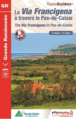 topoguide La Via Francigena à travers le Pas-de-Calais - GR145