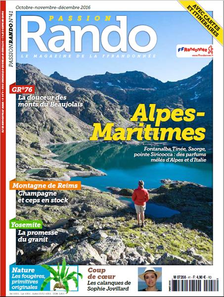 Image sur Passion Rando 41 : Alpes-Maritimes