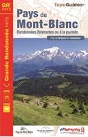 Topoguide Pays du Mont Blanc