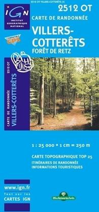 Carte IGN Villers-Cotterêts / Forêt De Retz
