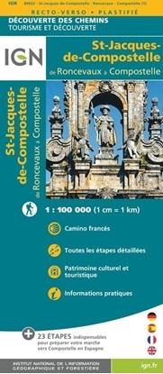 Image de Saint-Jacques-de-Compostelle de Roncevaux à Compostelle