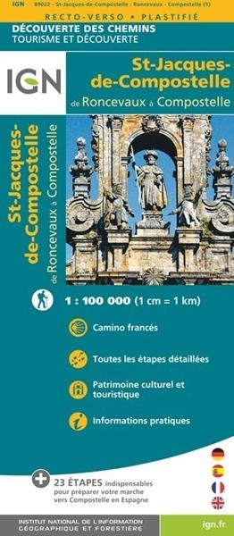 Image sur Saint-Jacques-de-Compostelle de Roncevaux à Compostelle