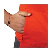 Image sur T-Shirt zippé Femme Drayere GR - FFRandonnée by Vertical