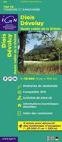 Carte IGN Diois Dévoluy - Haute Vallée De La Drôme