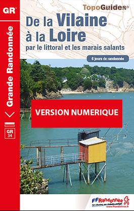 Topoguide de la Vilaine à la Loire par le littoral et les marais salants