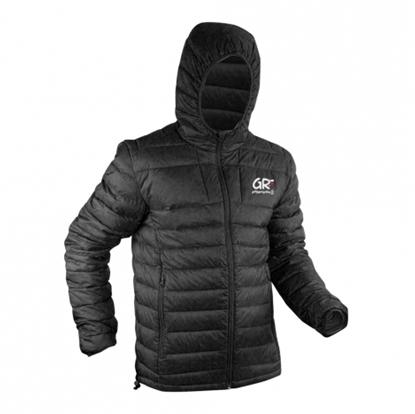 Veste Down Jacket GR - FFRandonnée By Vertical - Noir
