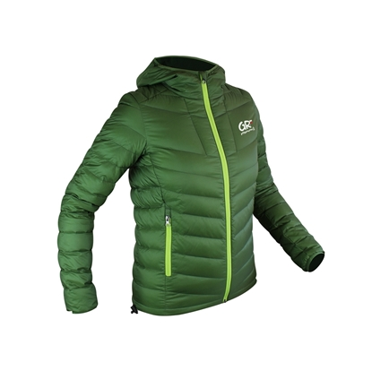 Down Jacket Lady GR - FFRandonnée By Vertical - Avocat