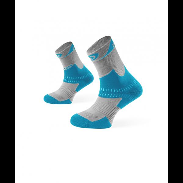 Mi-Chaussettes Gris-Bleu BV Sport