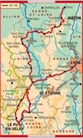 Topoguide sentiers vers Saint-Jacques-de-Compostelle Lyon Cluny Le Puy