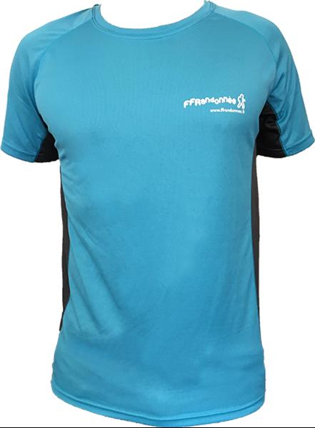T Shirt Technique FFRandonnée Homme