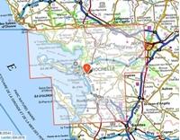 Carte IGN_Ile de Ré - Ile d'Oléron - Marais Poitevin