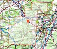 Carte IGN Vosges Du Nord - Mont Sainte Odile - Le Donon
