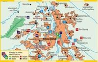 Plan topoguide Toulouse métropole à pied