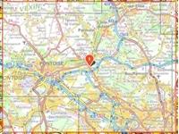 Carte IGN Forêts de Montmorency, de l'Isle-Adam et de Carnelle