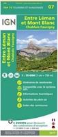Carte IGN - Entre Léman Et Mont Blanc - Chablais Faucigny - TOP 75007