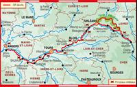 Plan topoguide le Long Des Châteaux De La Loire - GR®3
