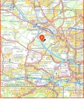 Carte IGN Versailles 2214ET