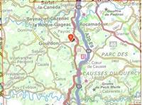Carte IGN Périgord Noir - Haut-Quercy