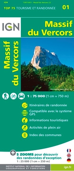 Massif Du Vercors - TOP 75001