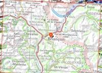 Briançonnais Queyras - plan - TOP 75005