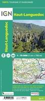 Carte IGN Haut-Languedoc - TOP 75022