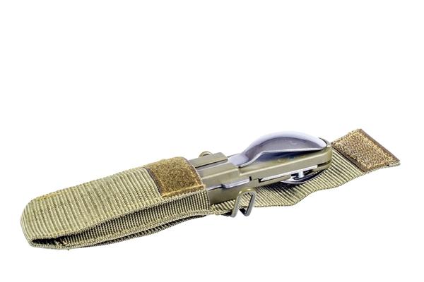Couteau Bivouac avec housse