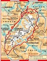 Plan topoguide tour Du Mont-Blanc - GR® TMB