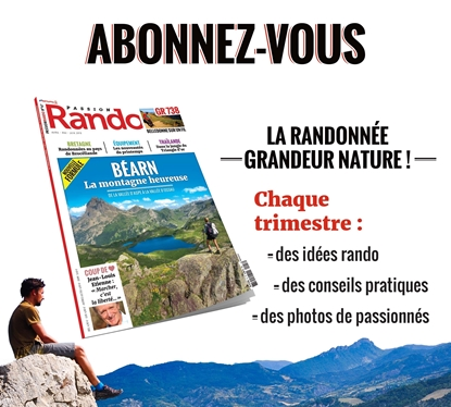 Abonnement Magazine Passion Rando