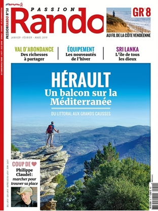 Passion Rando 50 : Hérault, un balcon sur la méditerranée