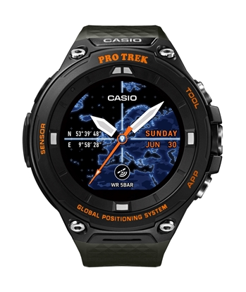 CASIO Pro Trek Smart WSD-F20A Orange