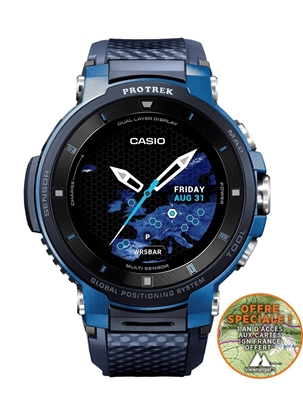 CASIO Pro Trek Smart WSD-F30-BU
