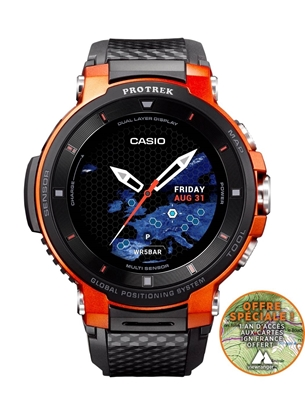 CASIO Pro Trek Smart WSD-F30 Orange